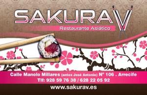 tarjeta cliente sakura v